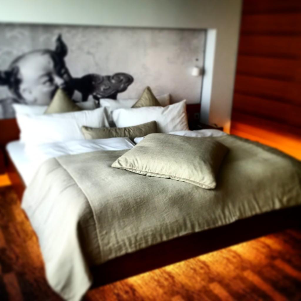 Sheraton Berlin Grand Hotel Esplanade: Park Studio Schlafzimmer