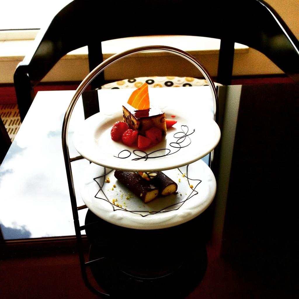 Afternoon Tea in der Club Lounge vom Sheraton Frankfurt Airport