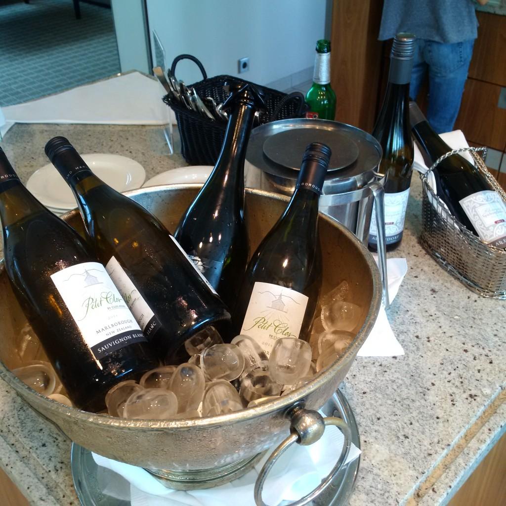 Wein- und Sektauswahl