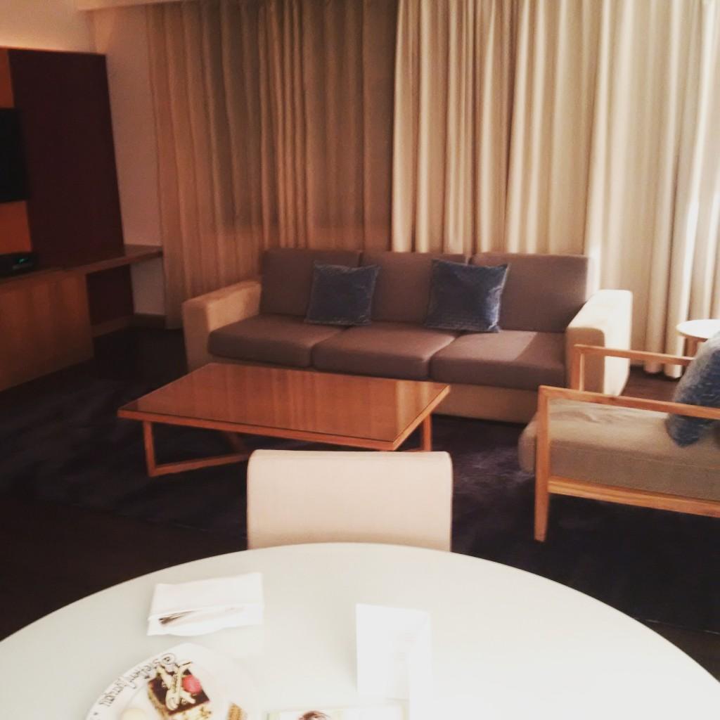Tower Suite im Sheraton Frankfurt Airport