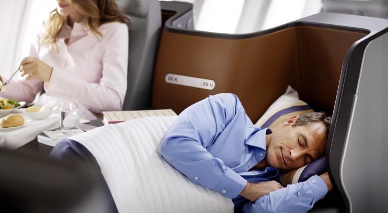 Entspanntes Reisen in der Lufthansa Business Class