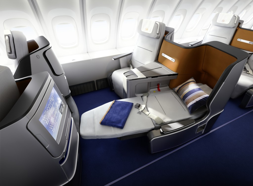 CGI: Lufthansa Business Class, Kabine 2012, 747-8 // CGI: Lufthansa Business Class, cabin 2012, 747-8 Available size only 4000px