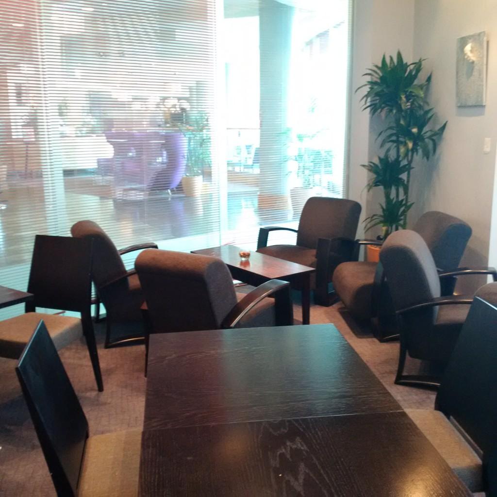 Sitzgelegenheiten in der Executive Lounge