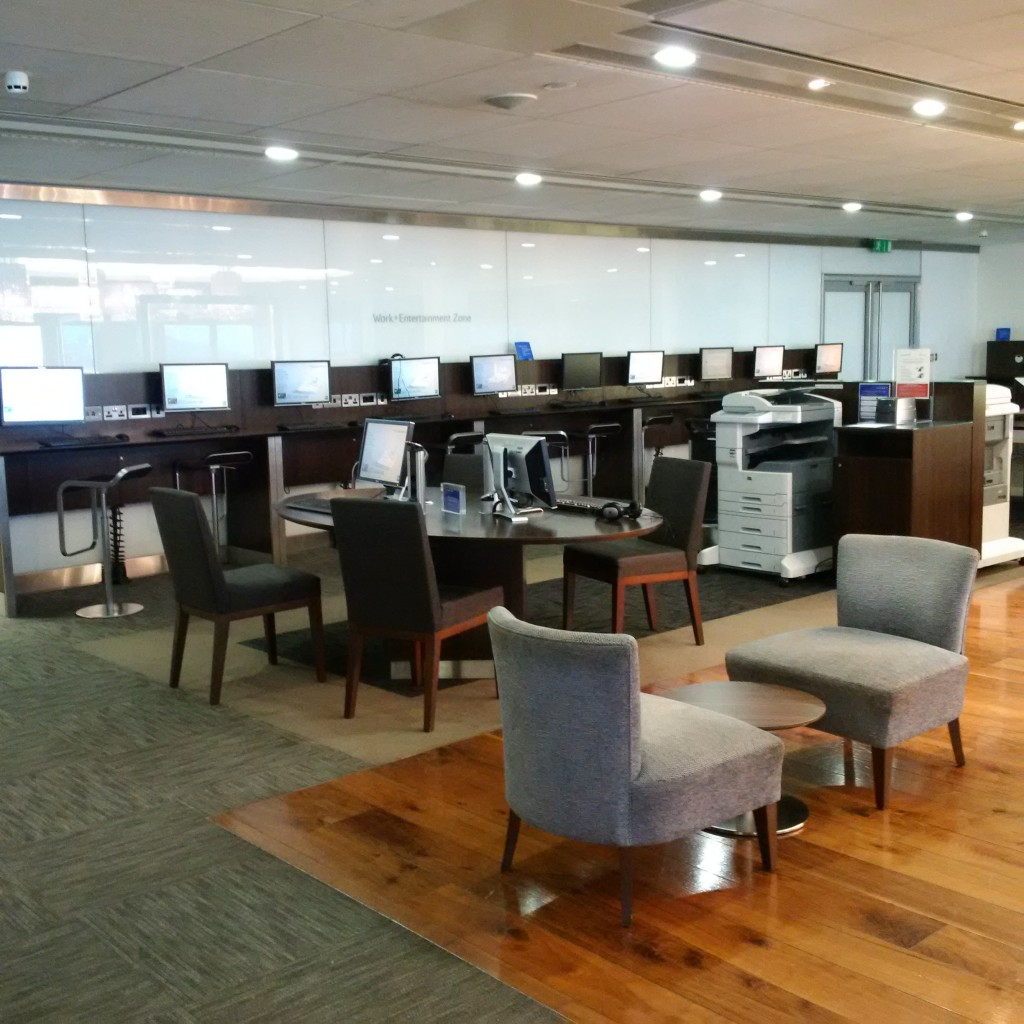 British Airways First Class Lounge London
