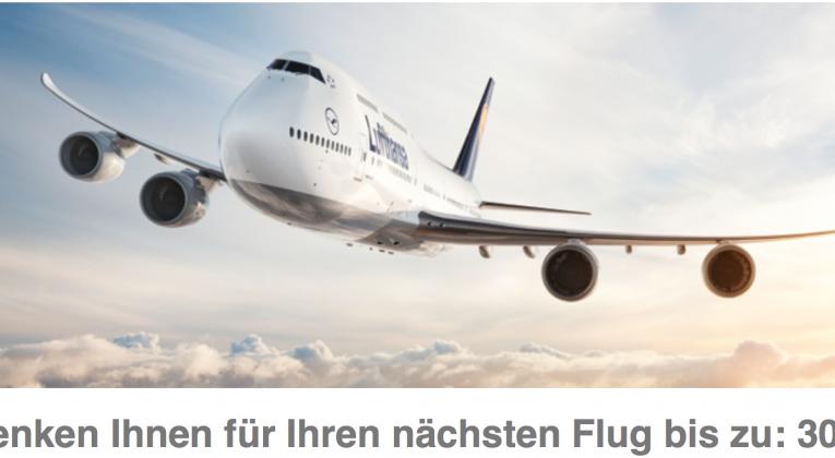 Gutschein Flug Lufthansa