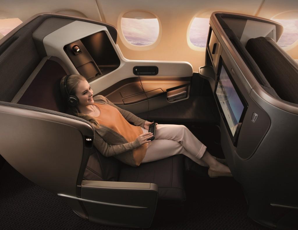 Auch die Singapore Airlines Business Class ist eine gute Möglichkeit zu Einlösen von Meilen