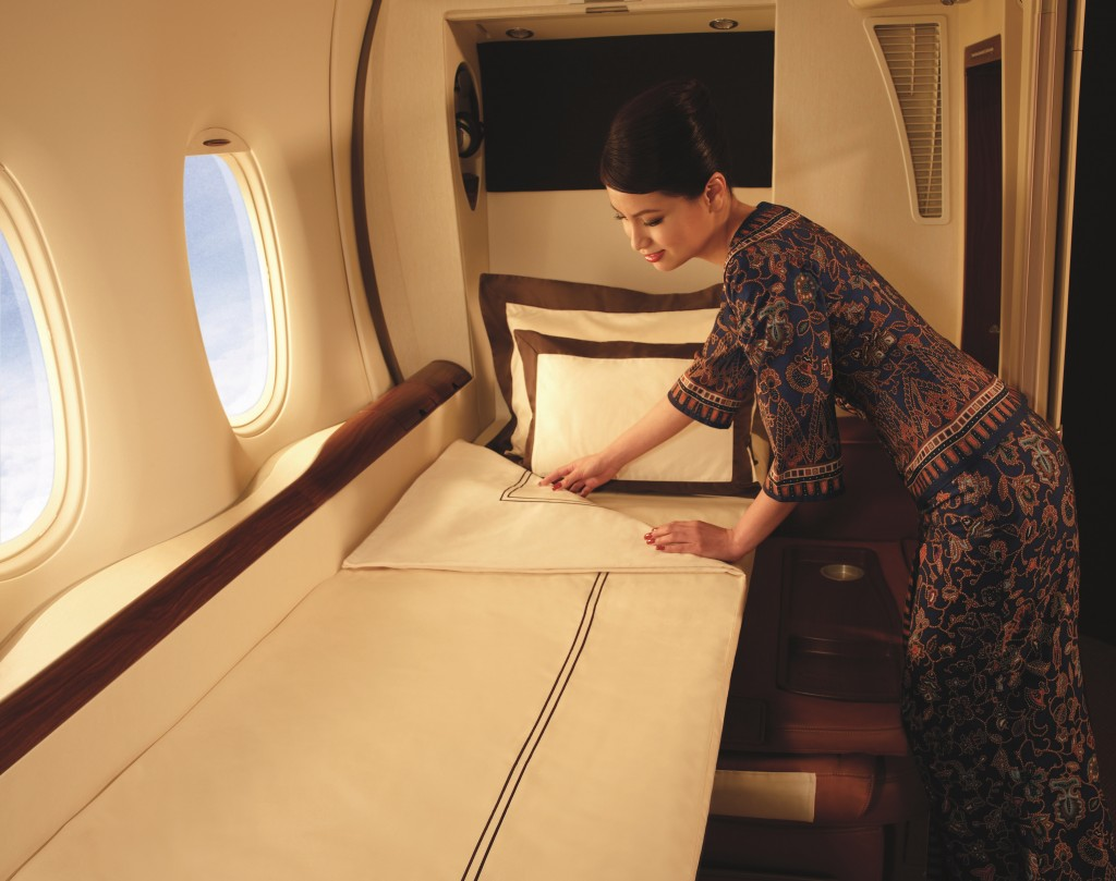 Weltklasse Service In der Singapore Airlines Suite Class