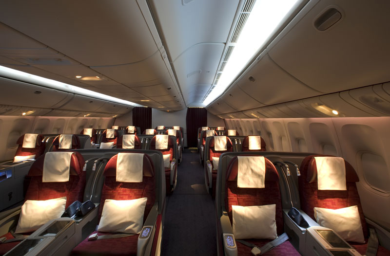 Qatar Airways Business Class Partner Sale - Boeing 777 Business Class