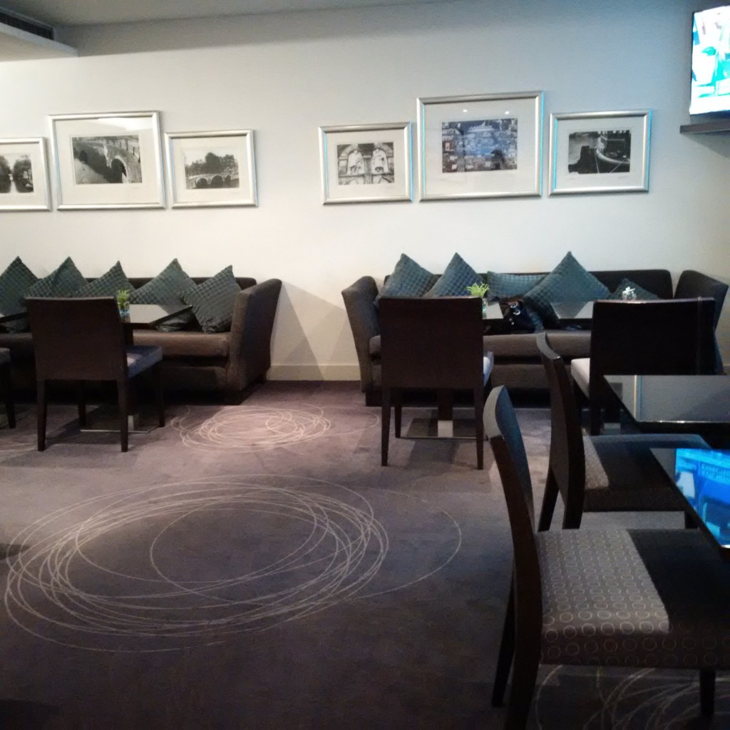 Sheraton Amsterdam Airport: Club Lounge
