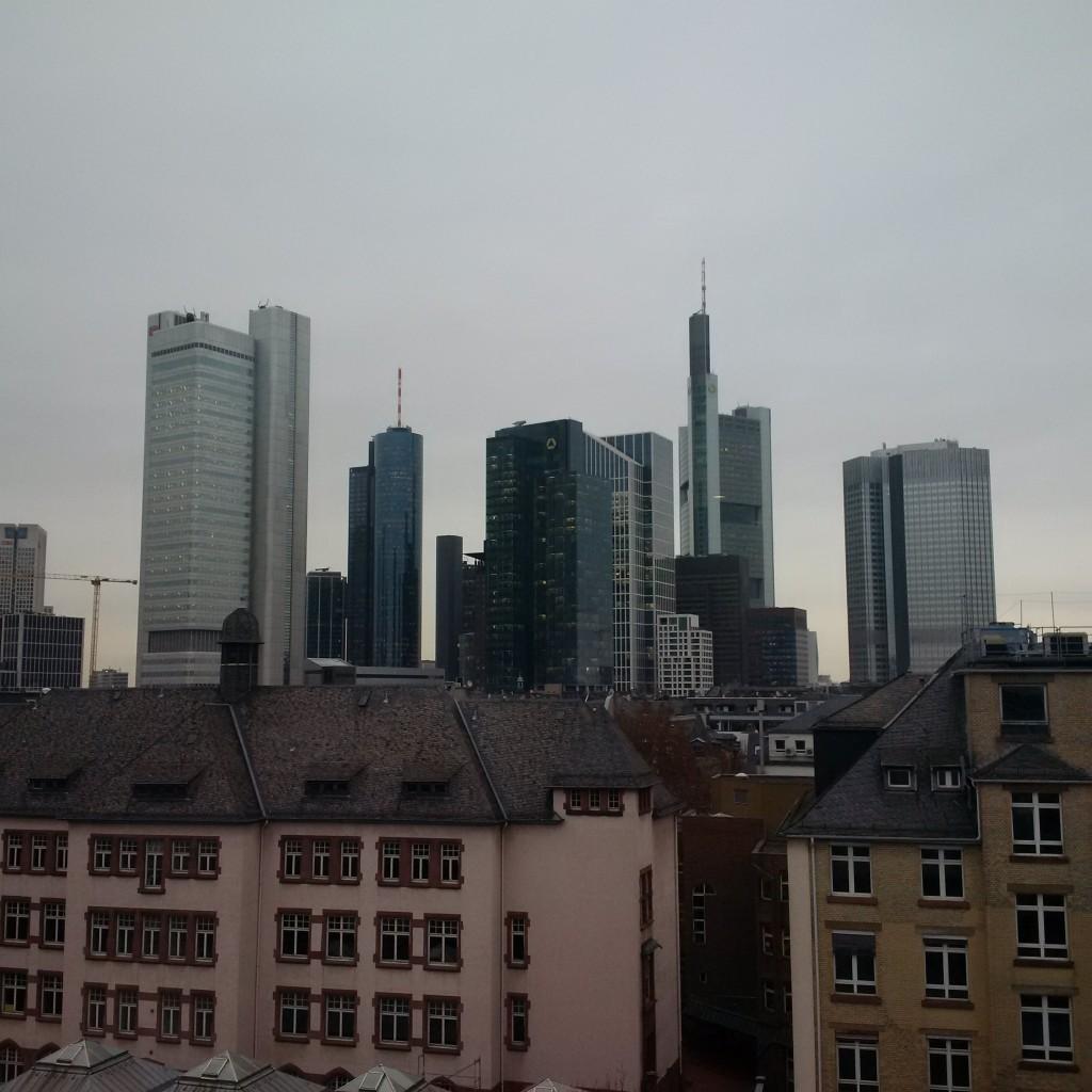 Le Méridien Frankfurt Ausblick