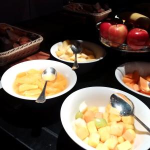 Hyatt Regency London The Churchill Lounge Frühstück