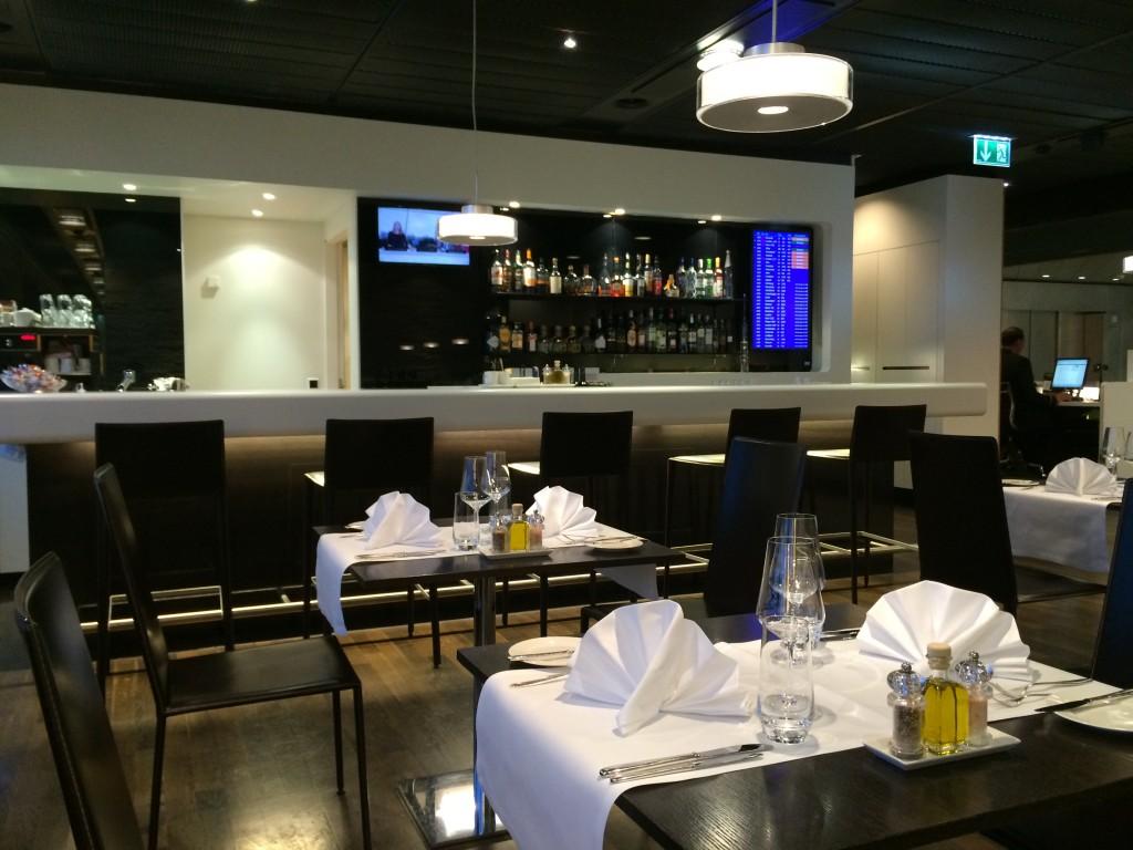 SWISS First Class Lounge Restaurant