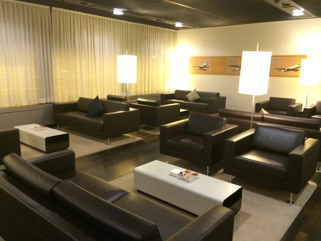 SWISS First Class Lounge