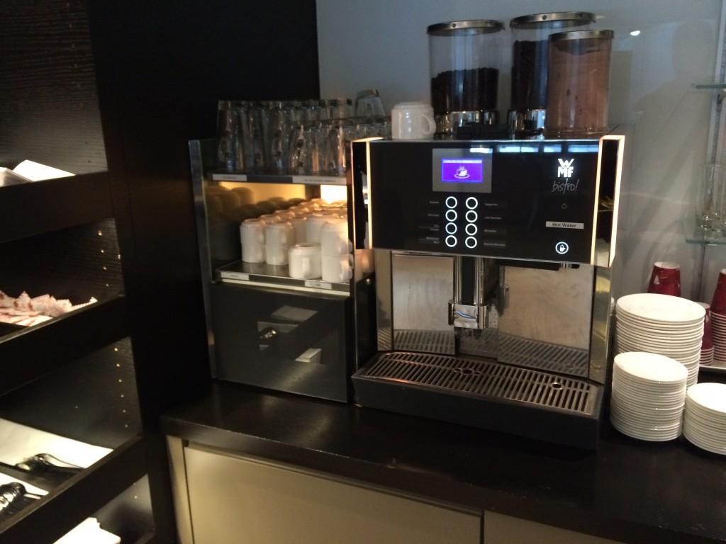 oneworld Lounge Zürich - Aspire Lounge Zürich - Kaffee