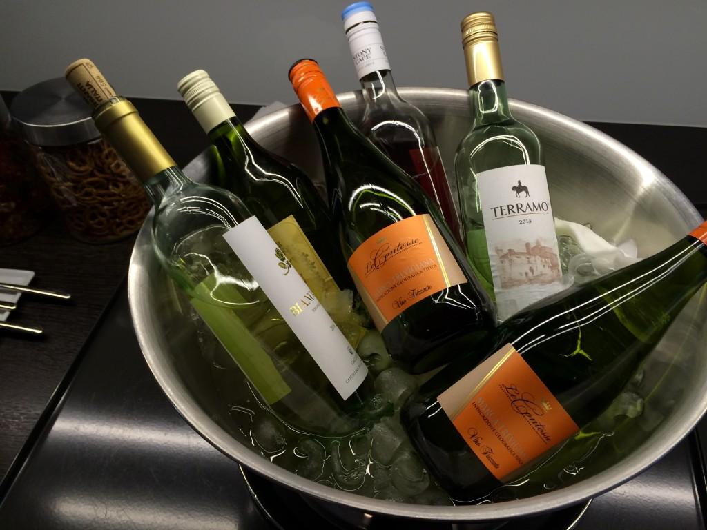 oneworld Lounge Zürich - Aspire Lounge Zürich - Wein