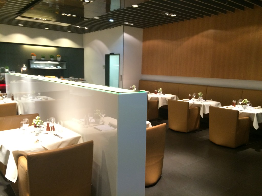 Lufthansa First Class Lounge Restaurant