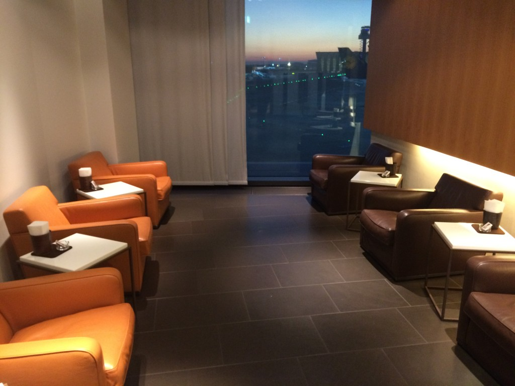 Lufthansa First Class Lounge Cigar Lounge