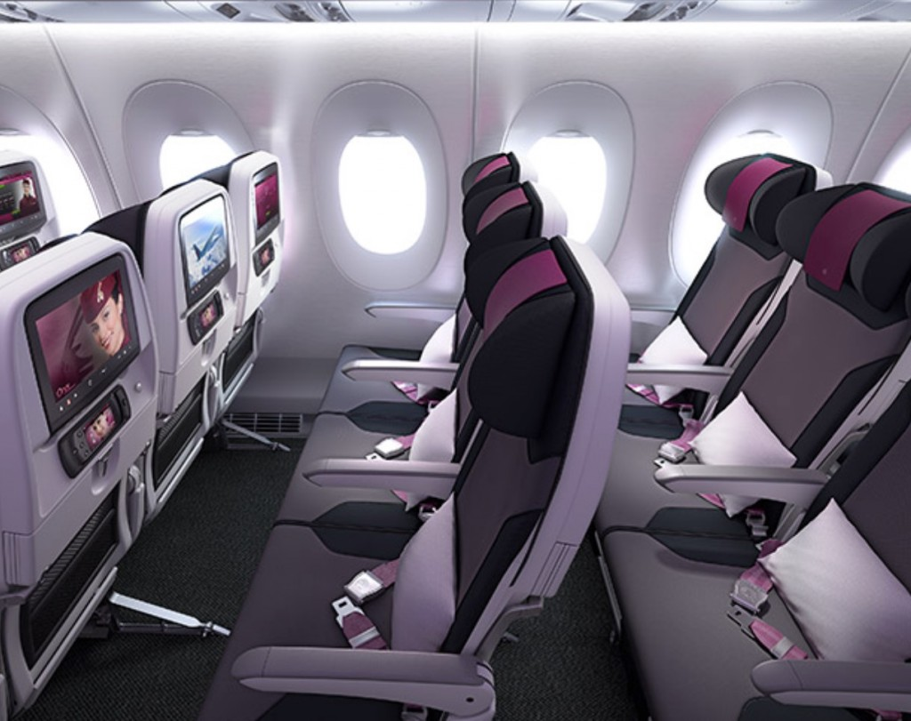 Qatar Airways Economy Class Angebote: Das Produkt