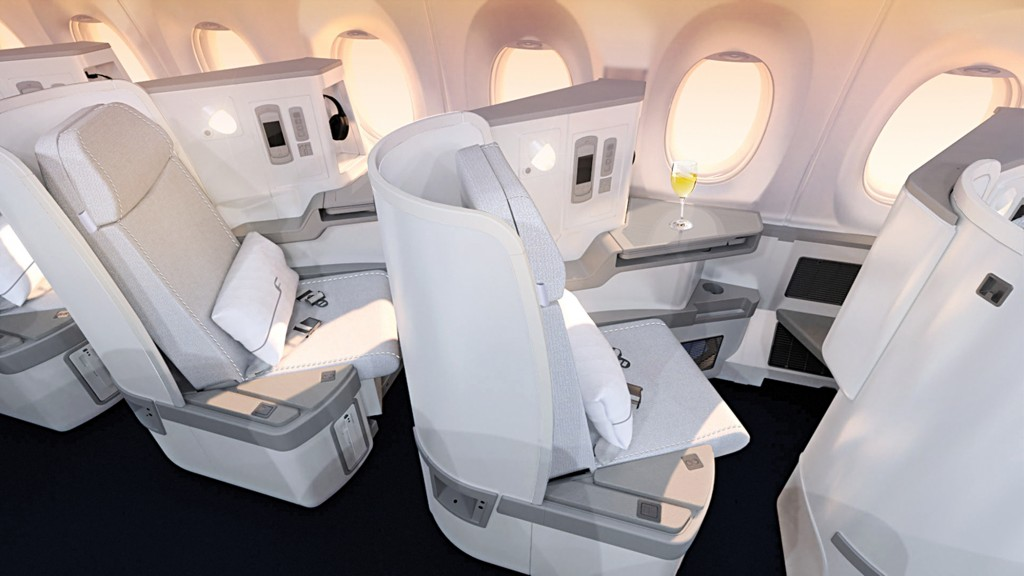 Finnair Business Class Angebote: Die Airbus A350 Business Class