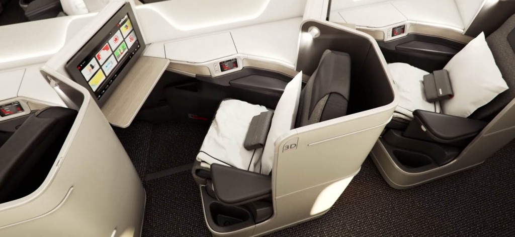Air Canada Business Class Angebote: Air Canada Boeing 787 Business Class