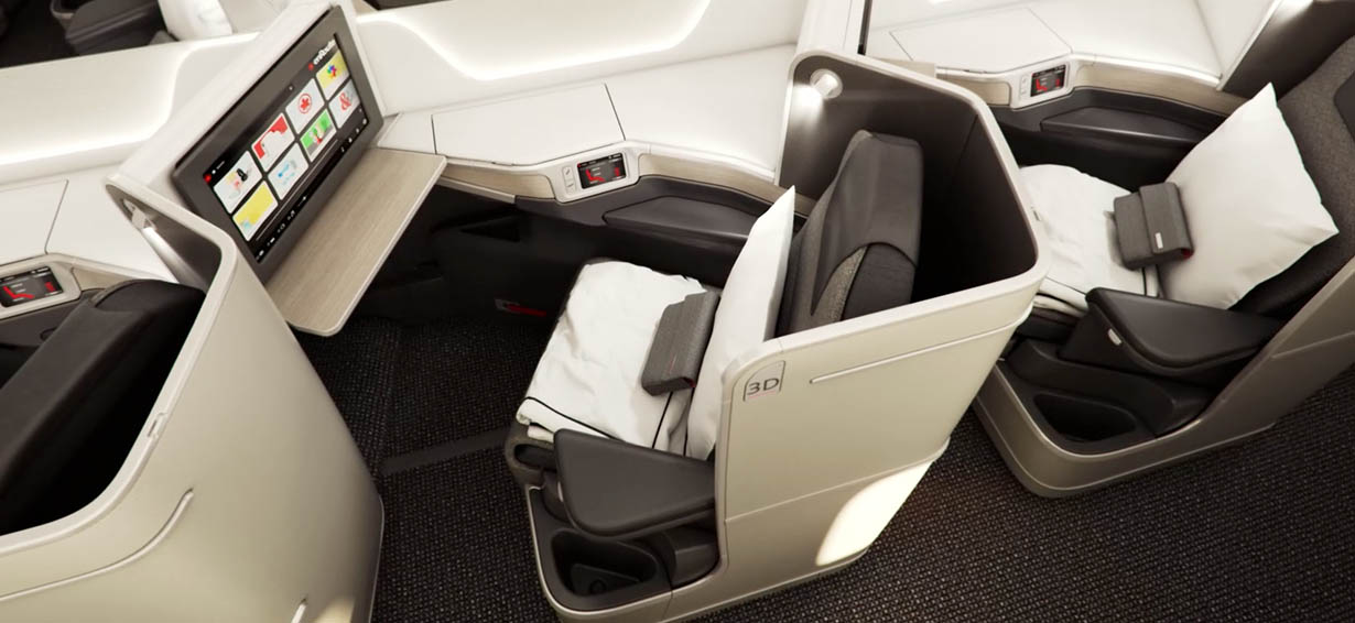 Lufthansa Business Class Angebote operated by Air Canada