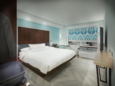 Tru by Hilton - Gästezimmer