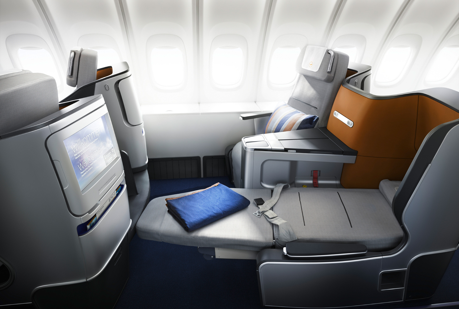 Lufthansa Business Class nach New York