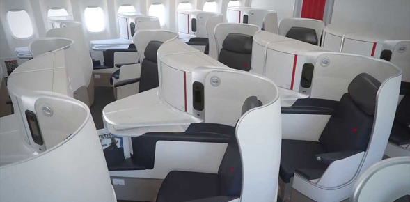 Air France Business Class Angebote - Die Air France Business Class