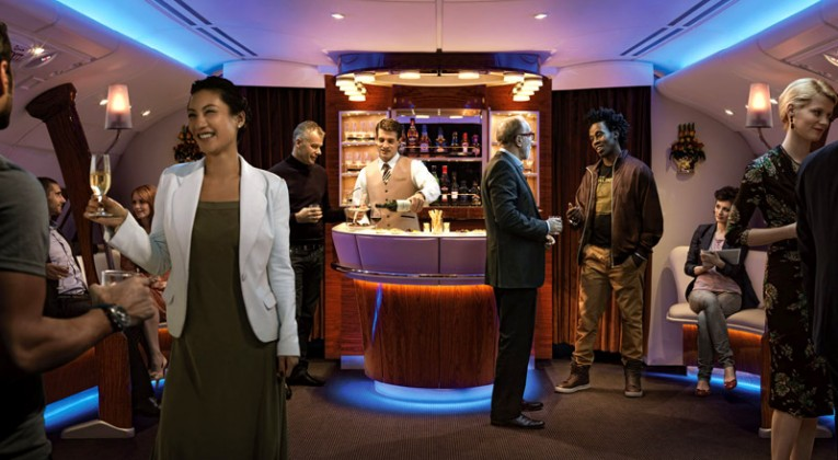 Emirates First Class Partner Sale - On Board Bar