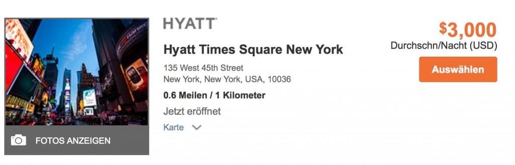 Hyatt Gold Passport Punkte kaufen -  Wo einlösen?