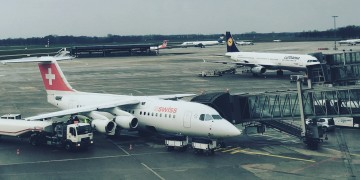 Lufthansa Business Class - Senator Lounge Hannover Ausbllick