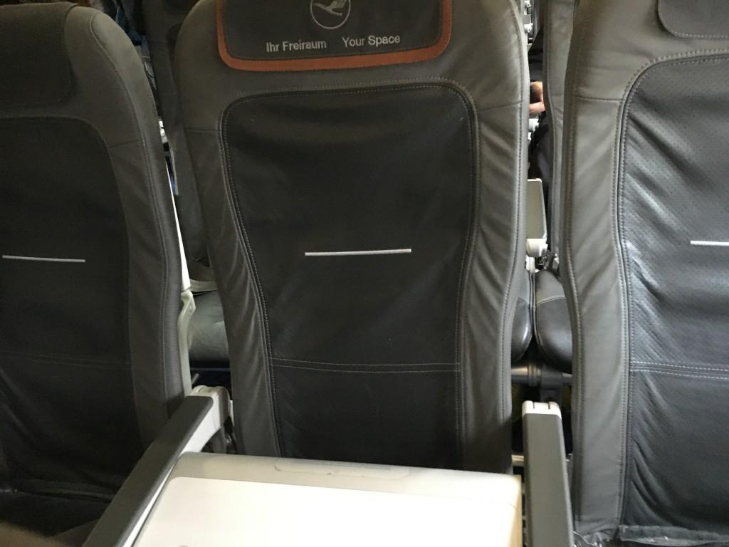 Lufthansa Business Class A321 geblockter Mittelsitz
