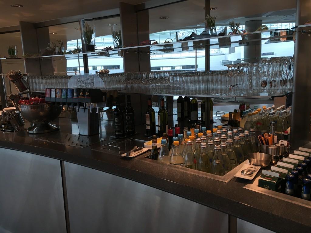 Lufthansa Senator Lounge München Non Schengen - Getränke