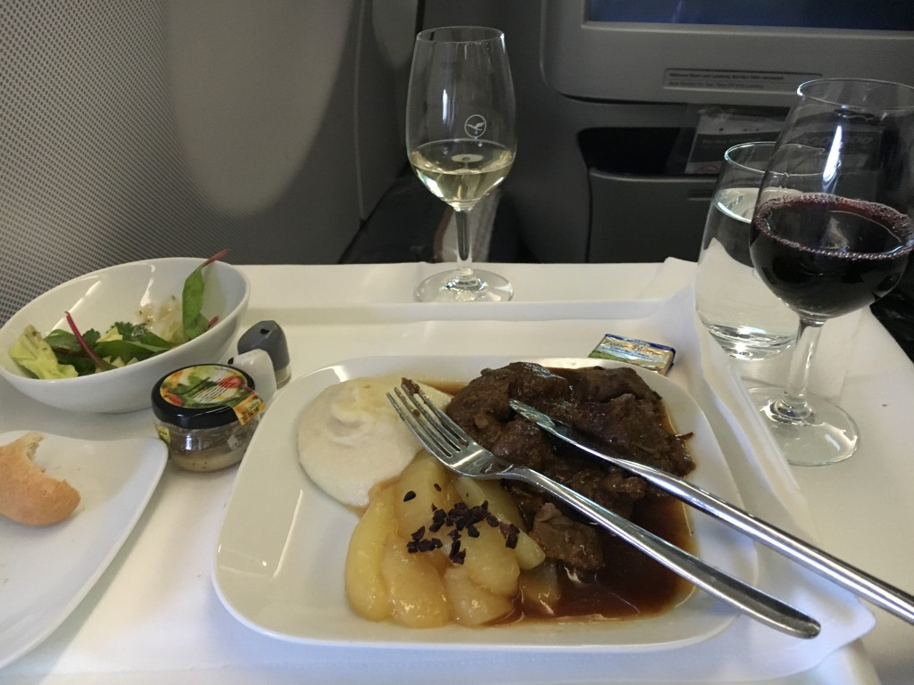 Lufthansa Business Class Hauptgang