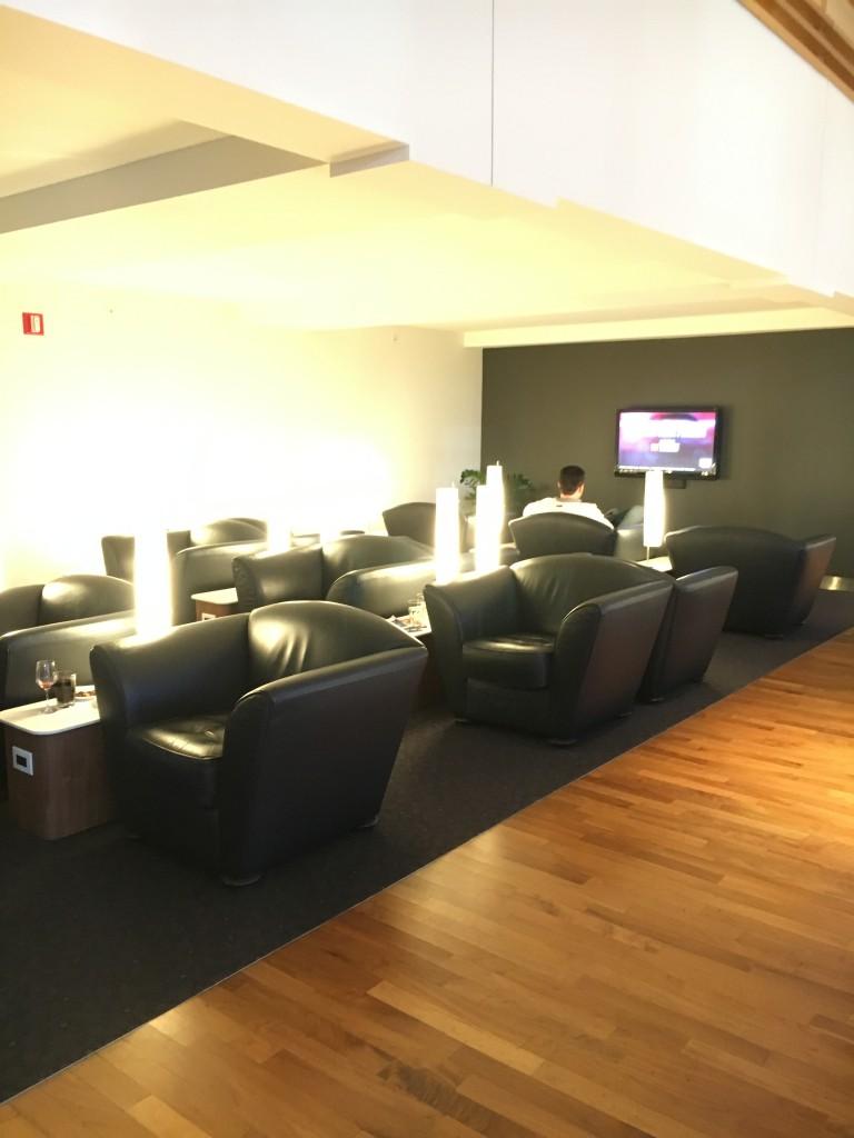 Lufthansa Senator Lounge New York JFK Sitzmöglichkeiten