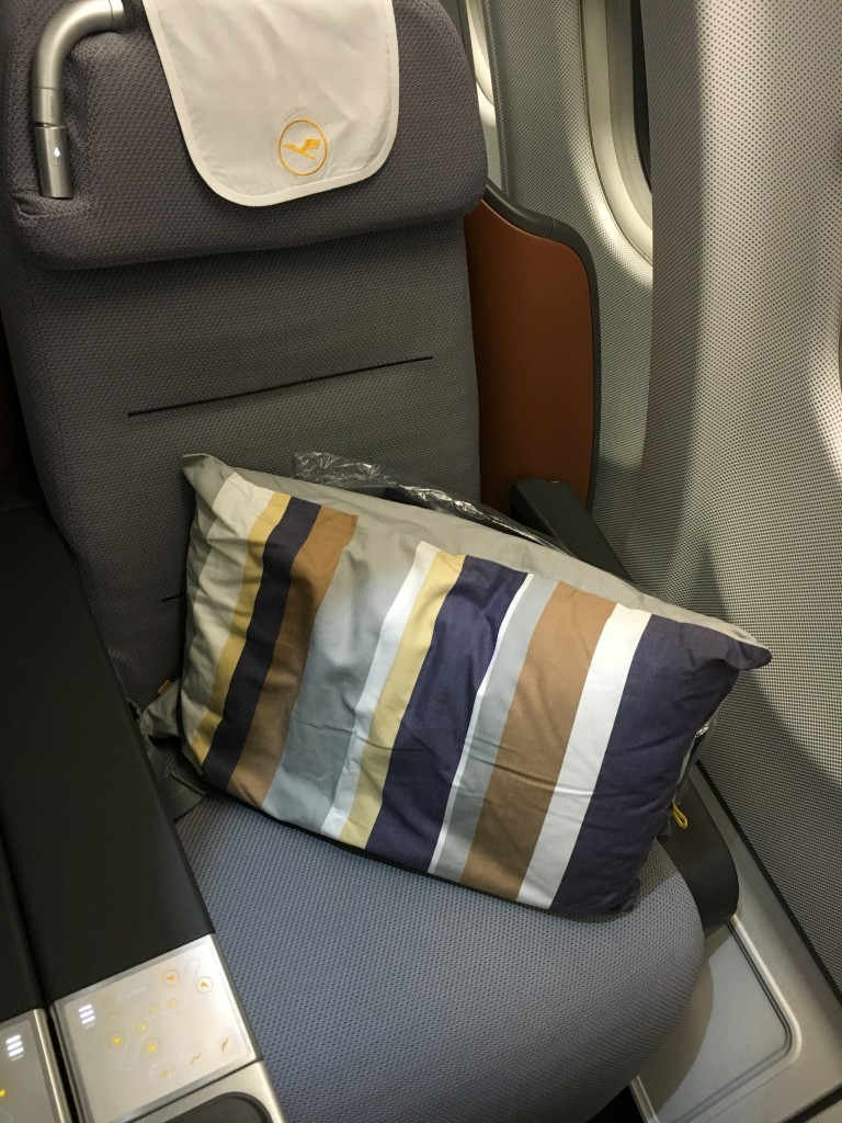 Lufthansa Business Class A340-600 Sitz