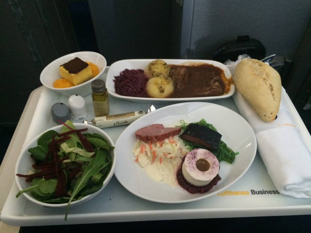Lufthansa Business Class - Essen