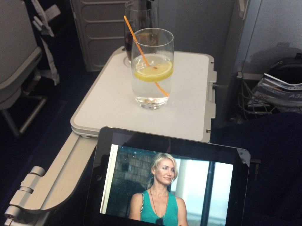 Lufthansa Business Class - Getränke