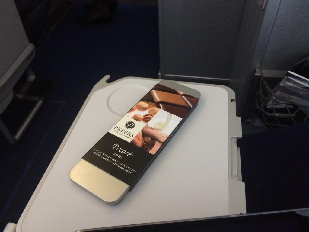 Lufthansa Business Class - Dessert