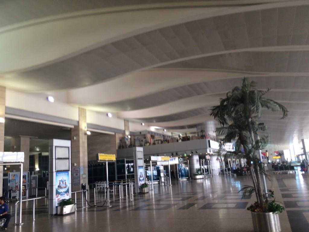 Swiss Business Class - Cairo Airport