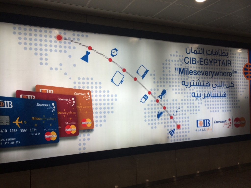 Egypt Air Credit Card add