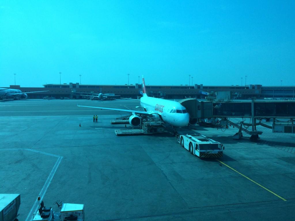 Swiss Airbus A320 Cairo Airport