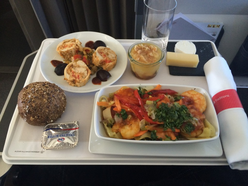 Swiss Business Class Kairo Essen