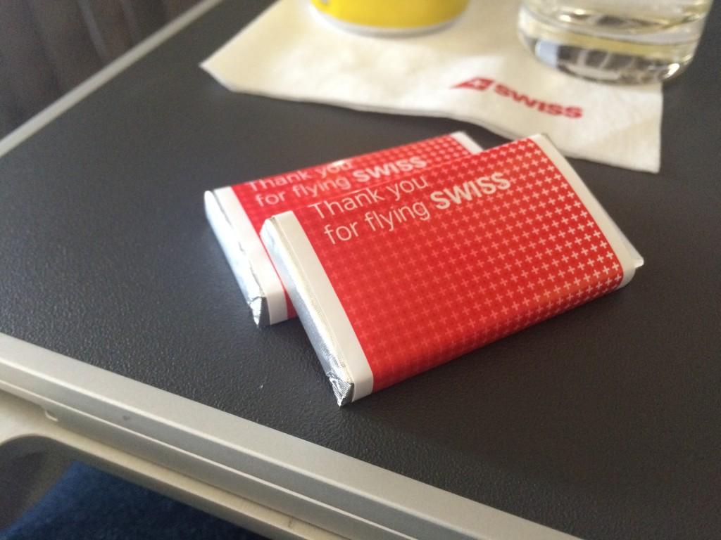 Swiss Business Class - Schokolade