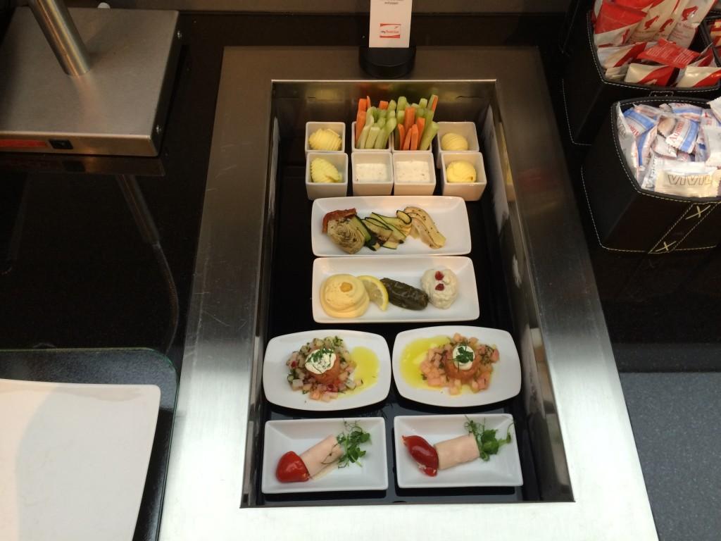 Austrian HON Circle Lounge Buffet