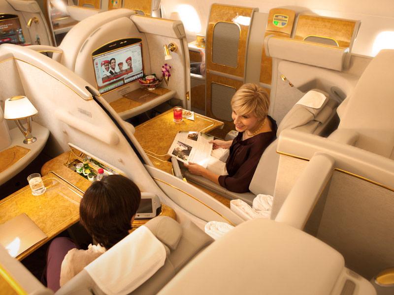 Emirates First Class Partner Sale - First Class Suiten