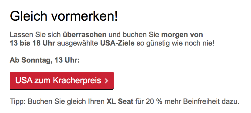 airberlin USA Sale II