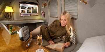 Emirates First Class Partner Sale - First Class Suite