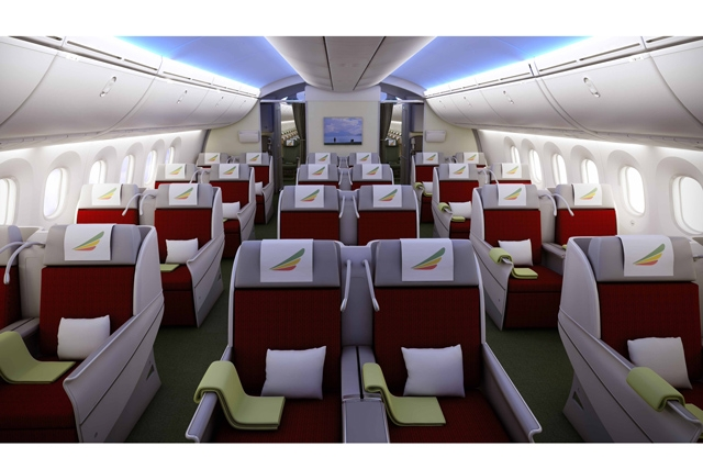 Neue Ethiopian Airlines Business class Angebote