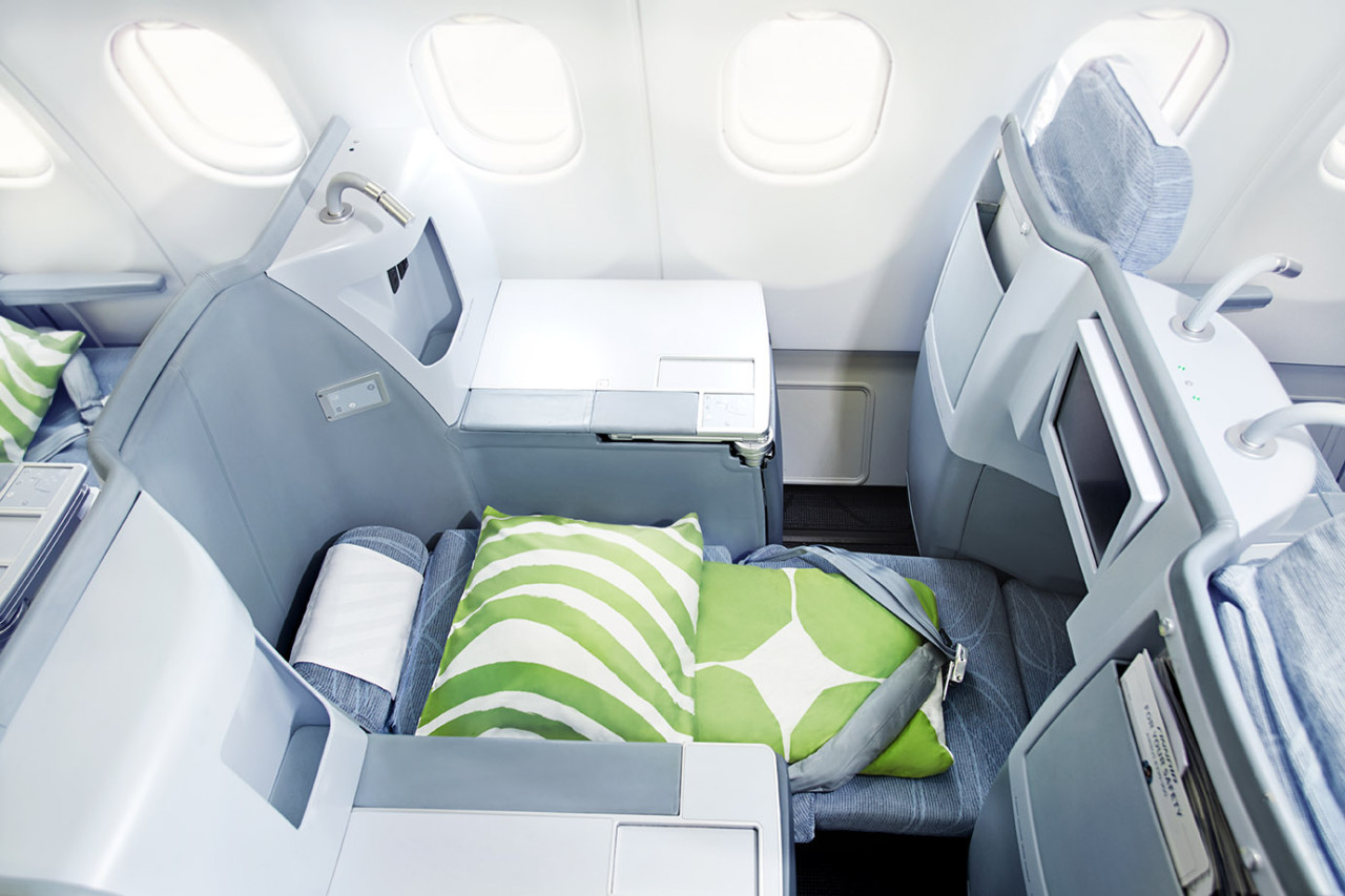 Business Class Angebote nach Asien Finnair